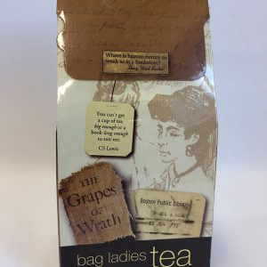 tea bags with quotes