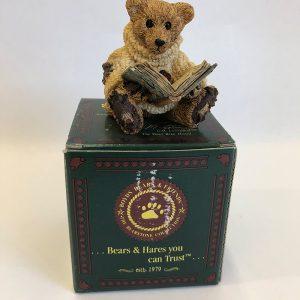 retired boyds bears figurine