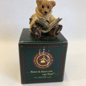 retired boyds bears figurine